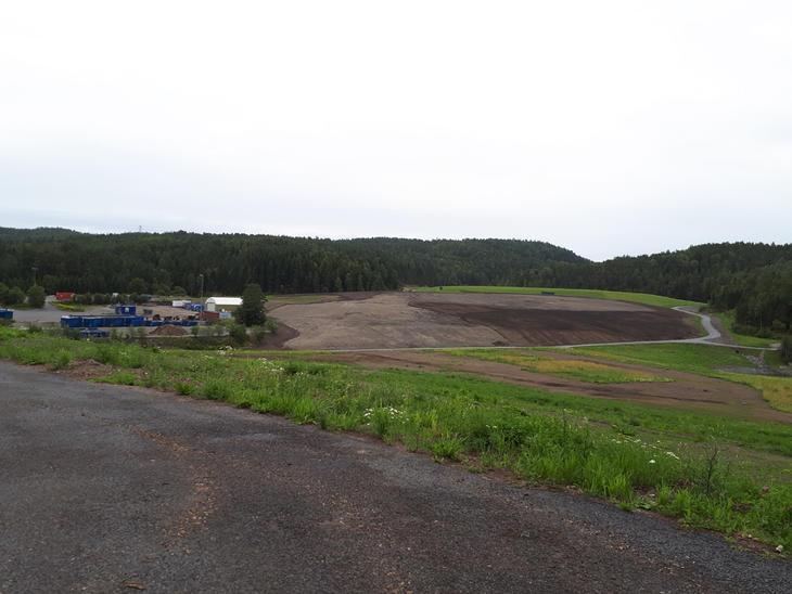 De gamle fyllingene på Grønmo skal bli et stort parkområde.