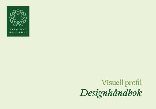 Omslagsbilde av Hageselskapets Designhåndbok